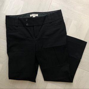 Banana Republic Black Cropped Pants - Sloan Fit
